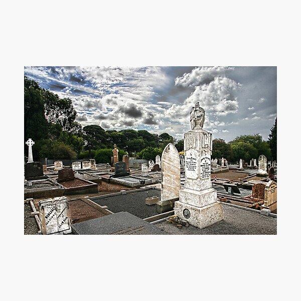 The Graveyard. Photographic Print