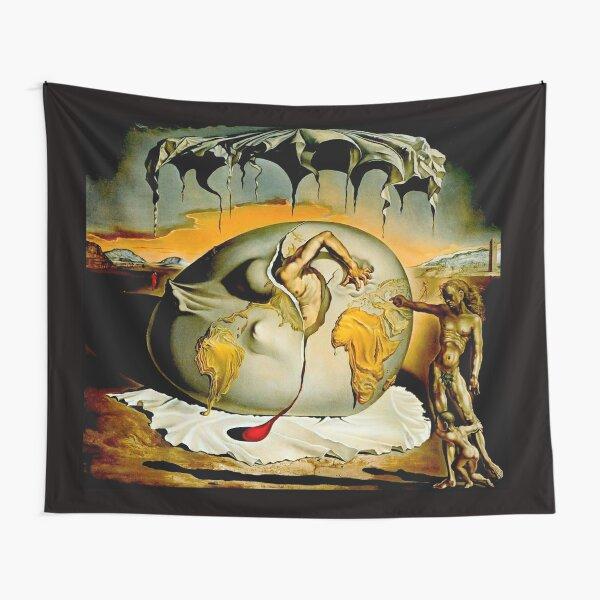 ENFANTE GEOPOLITIQUE OBSERVANTE : Salvador Dali Painting Print Tapestry