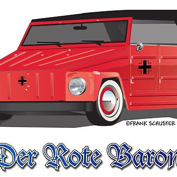 The Red Baron VW Thing by azoid