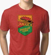 Jamaican Bobsled Team Cool Runnings Tri-blend T-Shirt