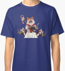 Meowscular Chef and his crew Classic T-Shirt