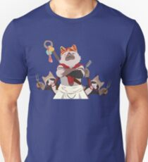 Meowscular Chef and his crew Unisex T-Shirt