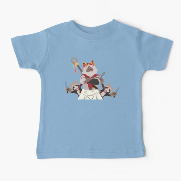 Meowscular Chef and his crew Baby T-Shirt