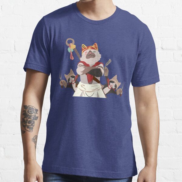 Meowscular Chef and his crew Essential T-Shirt