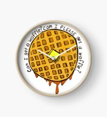 can i PLEASE get a waffle Clock
