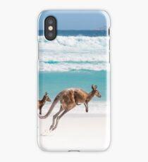 Kangaroos at Lucky Bay iPhone Case/Skin