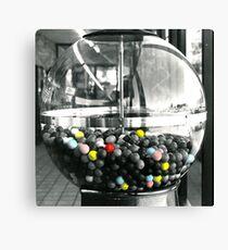 Bubble Gum Machine Canvas Print
