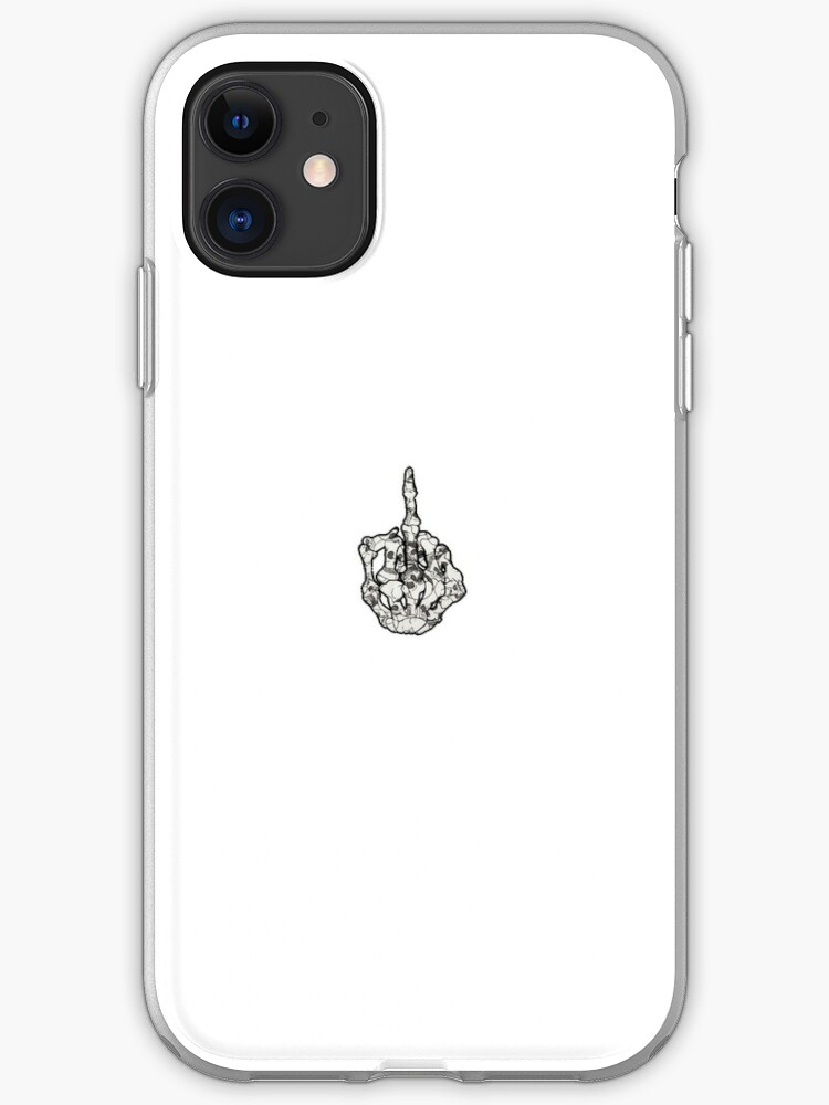 psychedelic tumblr Middle finger iphone case