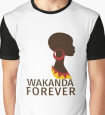Wakanda Forever  Graphic T-Shirt