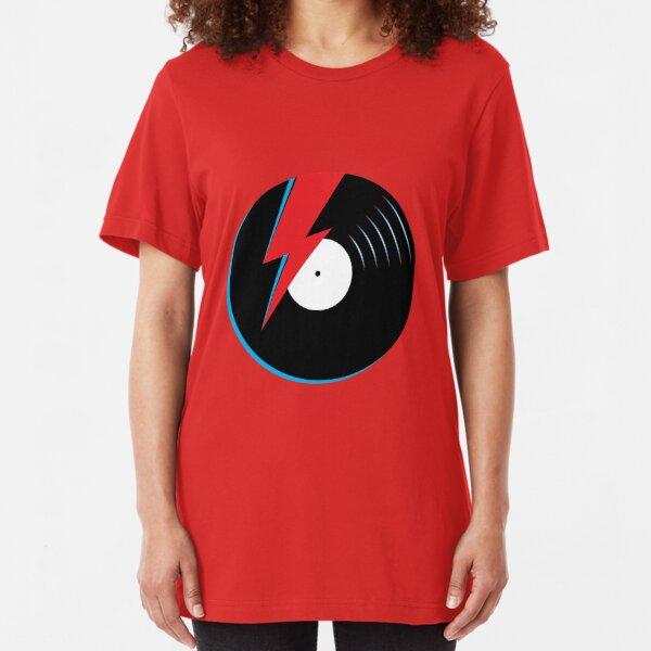 Ziggy Stardust Record Slim Fit T-Shirt