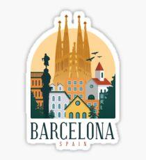 BARCELONA SPAIN  Sticker