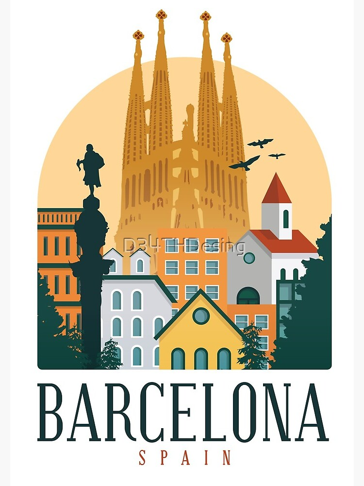 BARCELONA SPAIN  by D34THDesing