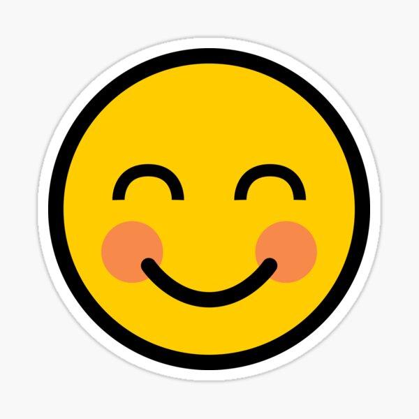 Smiley blushing Blushing Japanese