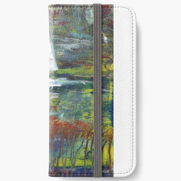 Get a Striking Abstract image on Cell Phone Cases, T-shirts, leggings etc iPhone Wallet