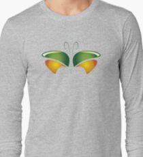 On the Wings of a Butterfly Long Sleeve T-Shirt