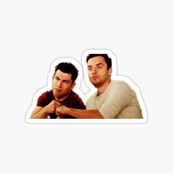 Schmidt and Nick Sticker