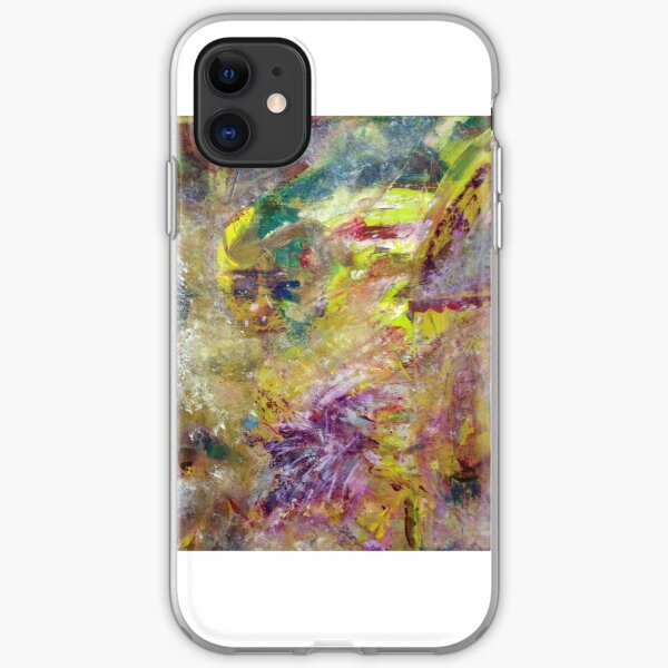Abstract Painting Perfect For Transfers To Clothing iPhone Soft Case
