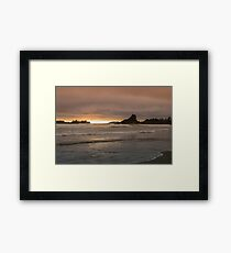Cloudy Sunset I Framed Print