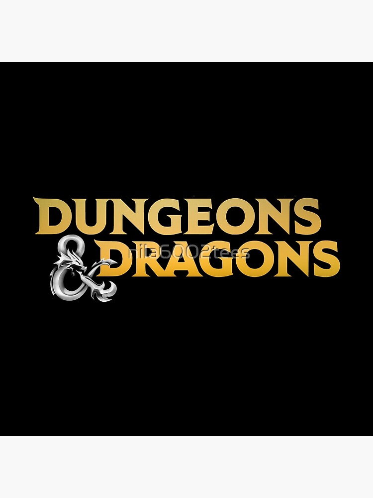 Dungeons & Dragons by nila6002tees