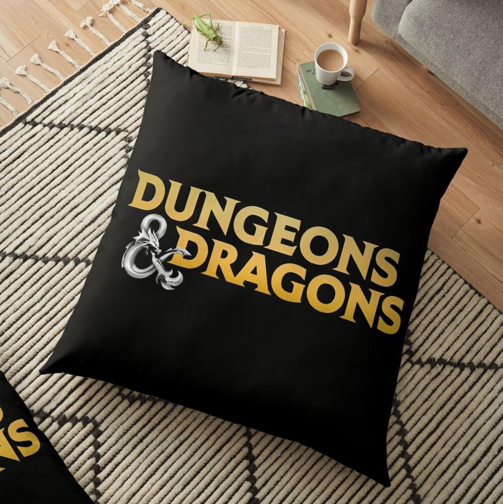 Dungeons & Dragons Floor Pillow
