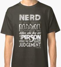 Nerd Zachary Levi Classic T-Shirt