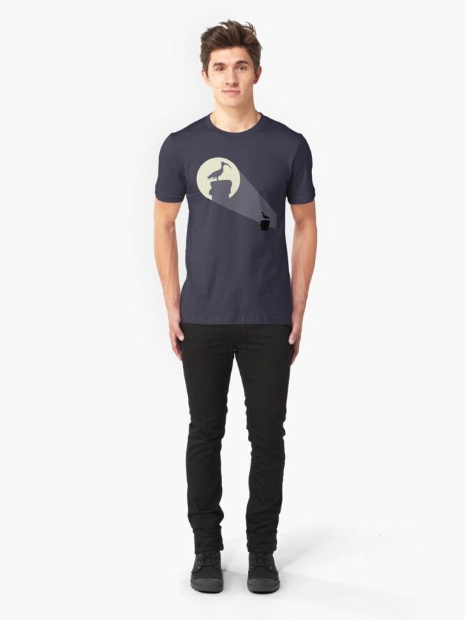 Alternate view of Bat Chicken Slim Fit T-Shirt