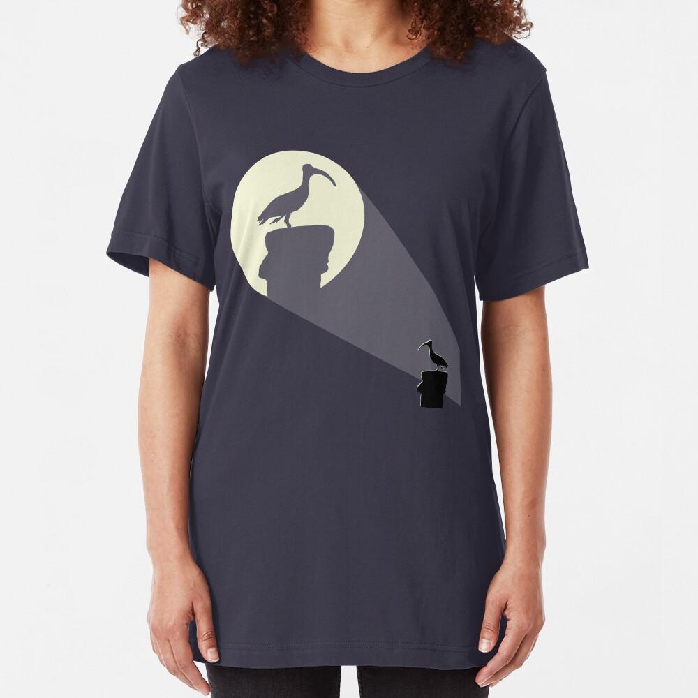 Bat Chicken Slim Fit T-Shirt