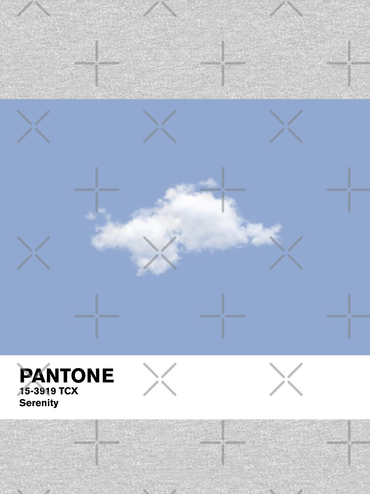 Serenity Blue Pantone Cloud de coverinlove