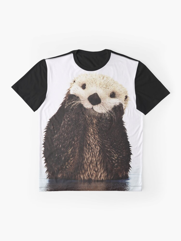 Alternate view of Otters Gonna Ott Graphic T-Shirt
