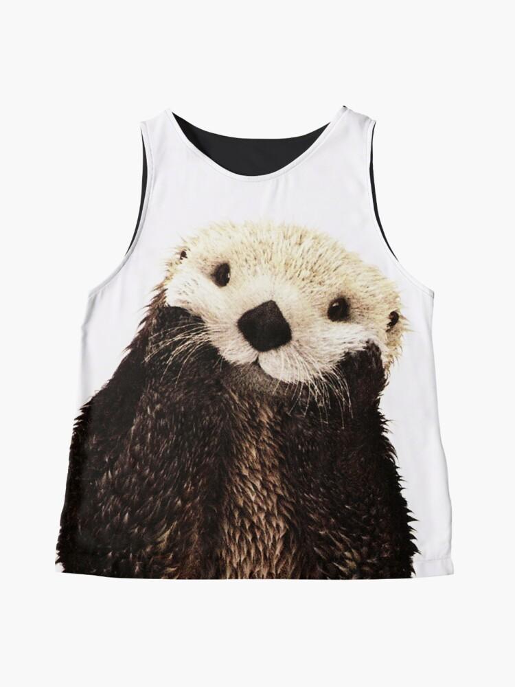 Alternate view of Otters Gonna Ott Sleeveless Top