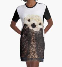 Otters Gonna Ott Graphic T-Shirt Dress