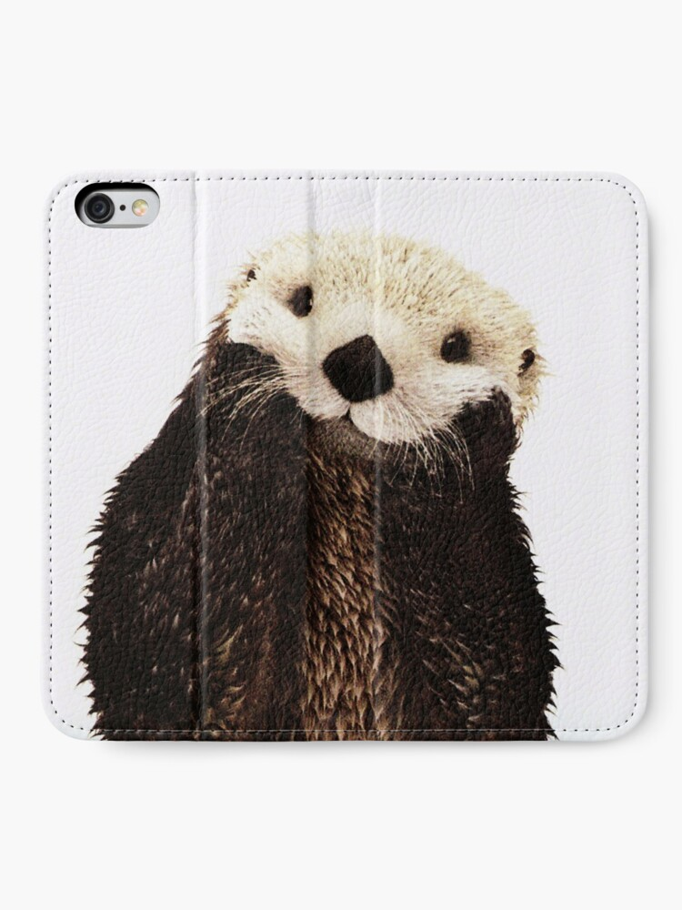 Alternate view of Otters Gonna Ott iPhone Wallet