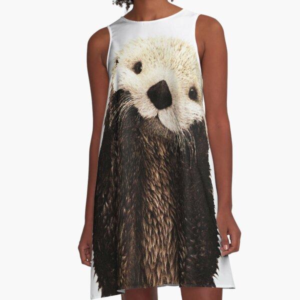 Otters Gonna Ott A-Line Dress