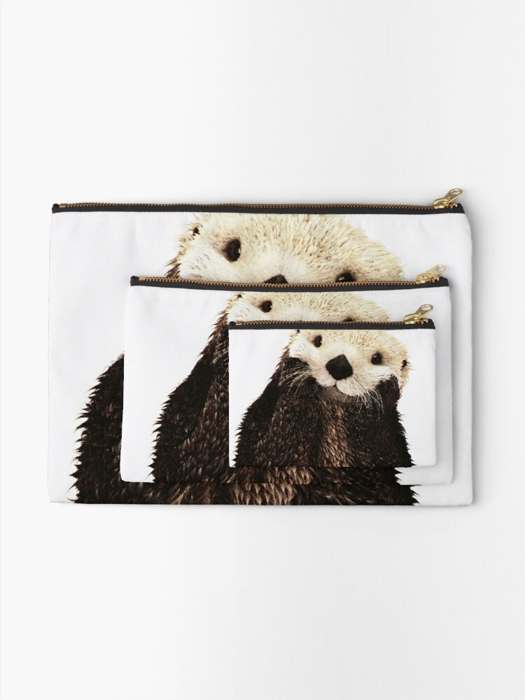 Alternate view of Otters Gonna Ott Zipper Pouch
