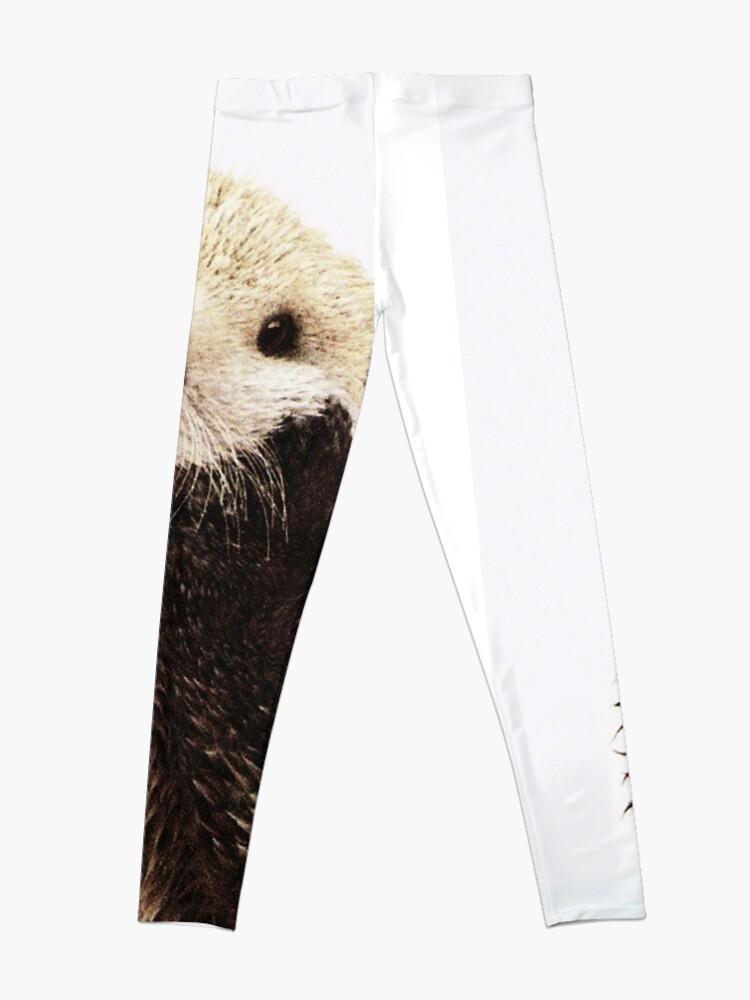Alternate view of Otters Gonna Ott Leggings