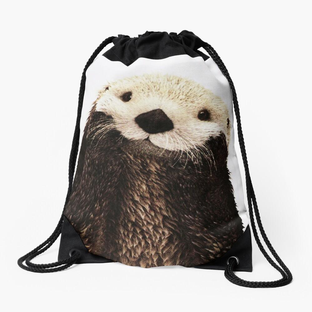 Otters Gonna Ott Drawstring Bag