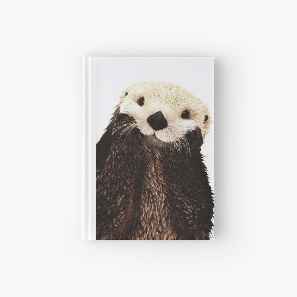 Otters Gonna Ott Hardcover Journal