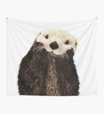 Otters Gonna Ott Wall Tapestry