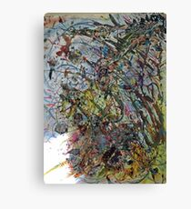 Large Acrylic Abstract Painting Canvas Print