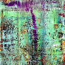 Gerhard Richter Style Original Abstract Canvas Painting For Sale by Darryl Green