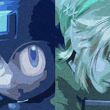 Blue vs Green by MyQ7