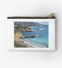 California Beach Scene With Natural Arch Studio Pouch
