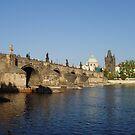 Photo of The Charles Bridge in Prague by Darryl Green