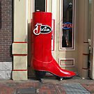 Big Red Boot by Debbi Tannock