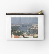 View of Prague From Above The City Studio Pouch