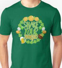 Shake Your Shamrocks St Patrick Day Gift  Unisex T-Shirt