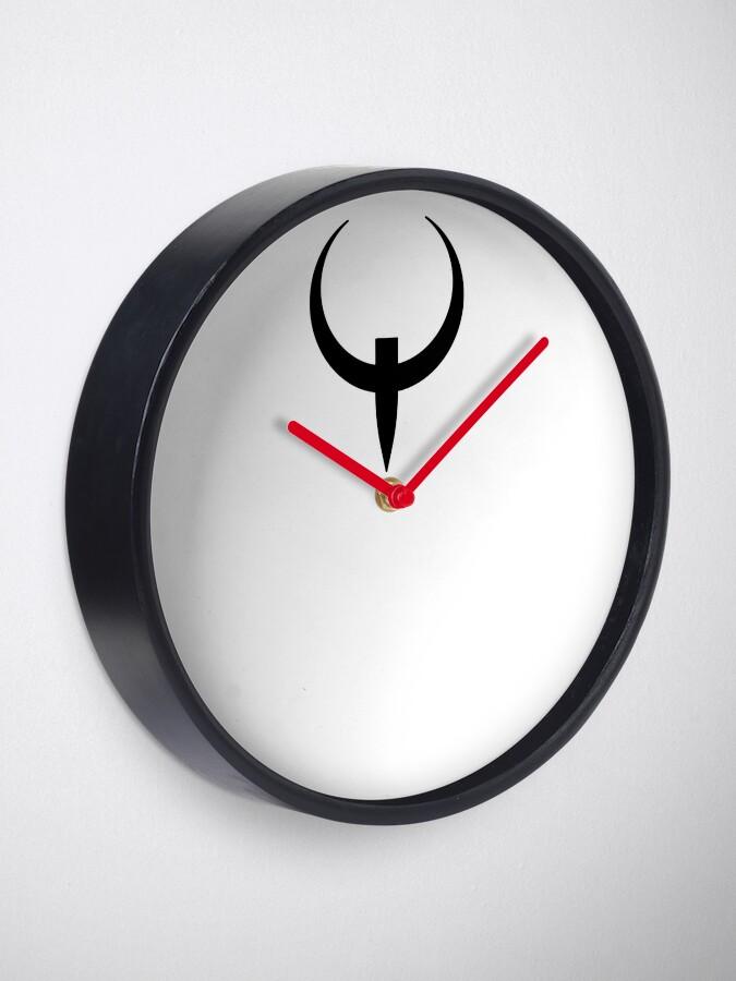 Alternate view of Q Cross (in black) Clock