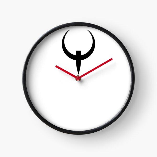 Q Cross (in black) Clock