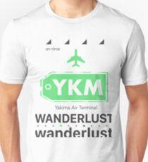 YKM Yakima Air Terminal  Unisex T-Shirt