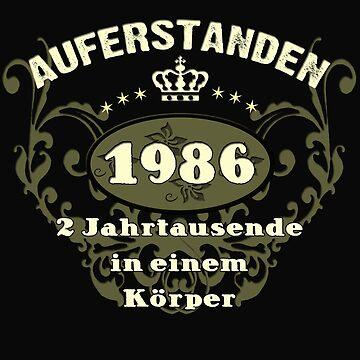1986 / Birthday / Legend by lemmy666